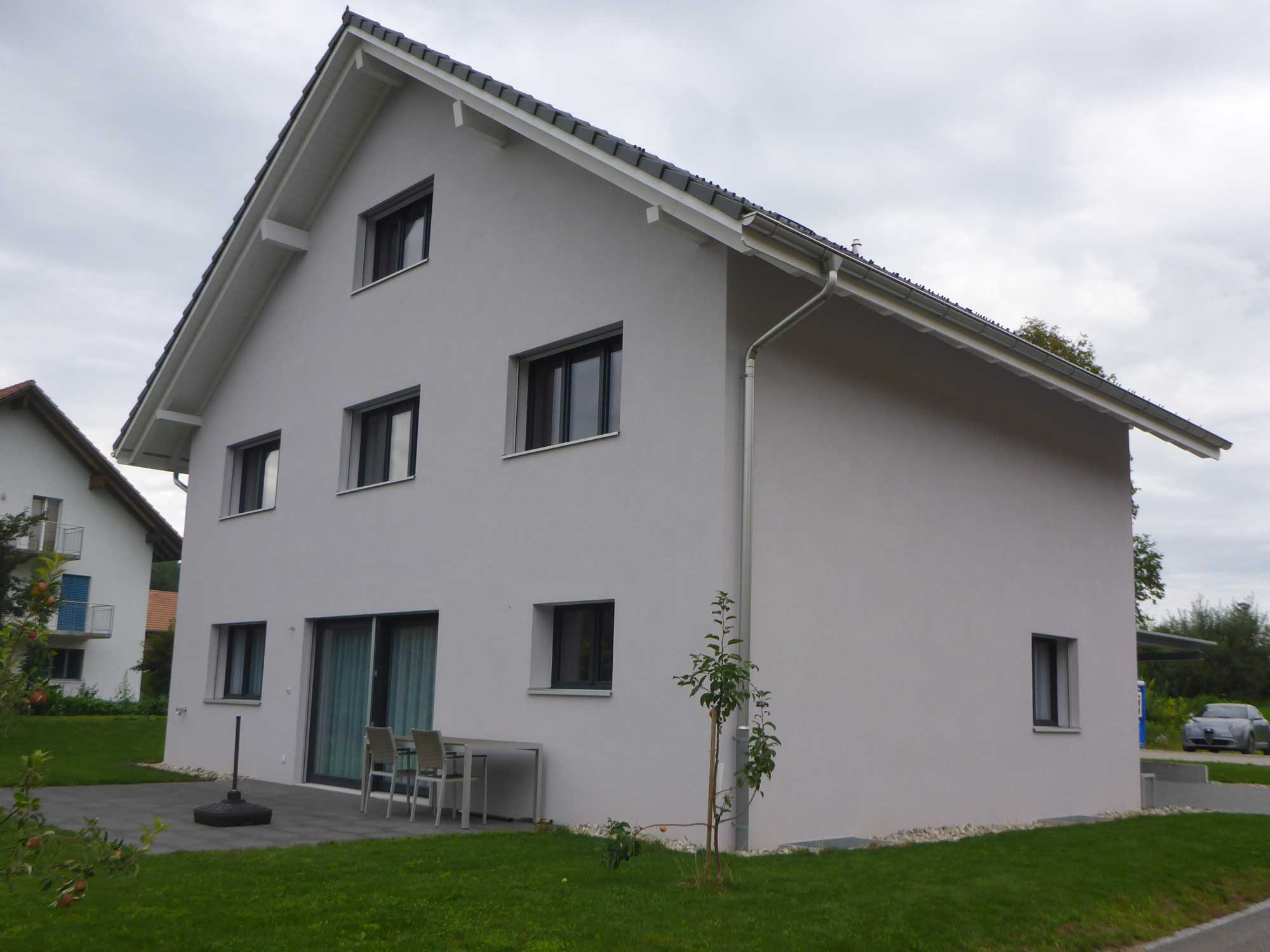 Musterhaus 1: 5½ - Zimmer - Einfamilienhaus